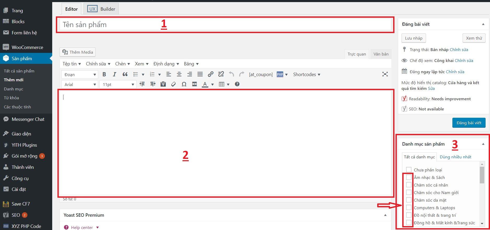 Hướng dẫn đăng bài viết trên Trang Website (giới thiệu, liên hệ,...)